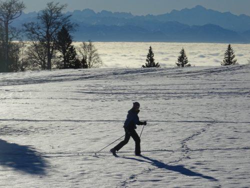 Ski de rando nordique & Yoga