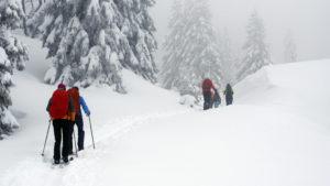 Backcountry au Chalet des Combes
