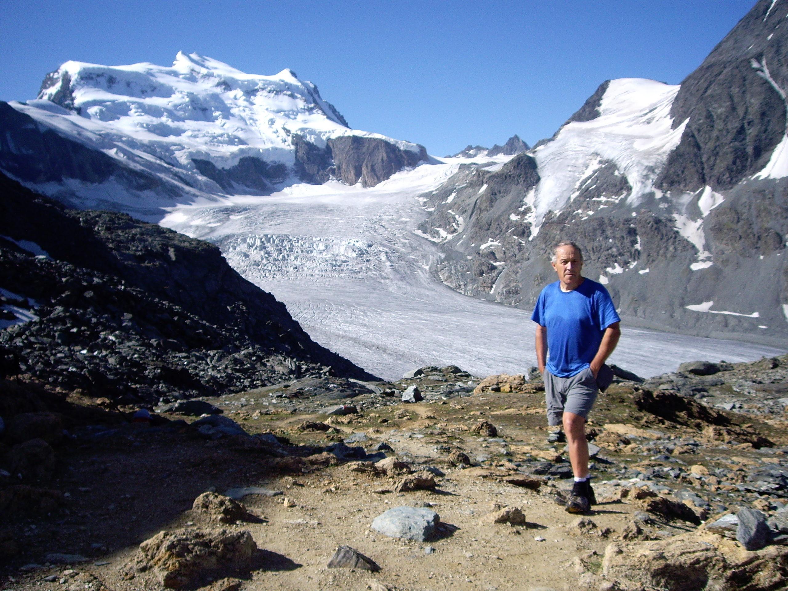 Jean-Luc Girod en randonnée