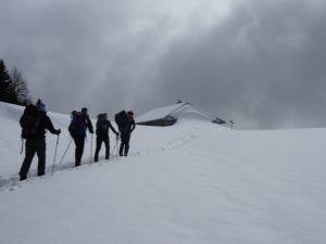 Backcountry au Mont Sala